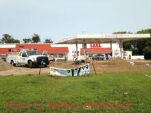 removing old gasoline / petroleum tanks
